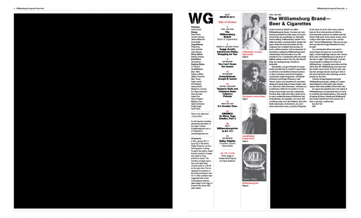 wg27 table of contents