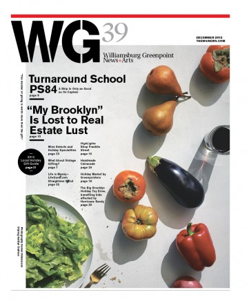 New 2013 masthead emphasizing WG and thereby de-emphasizing geographic associations. Photography Daniel Håkansson, Styling Kaitlyn DuRoss.